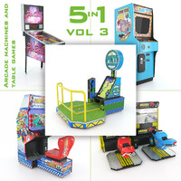 Arcade Machines And Table Games 5in1 Vol 3