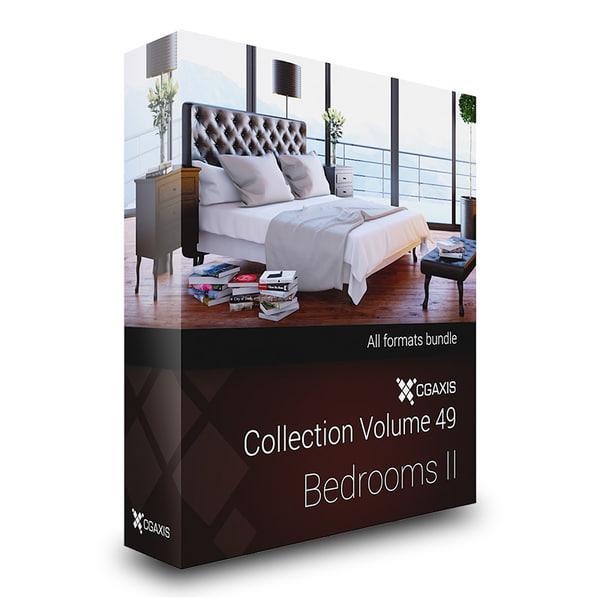 c4d volume 49 bedrooms beds