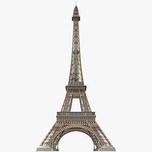 eiffel tower 2 c4d