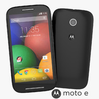Motorola Moto E 2014 Smartphone Black