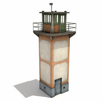 guard tower 3d model