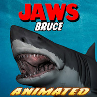 3d jaws bruce