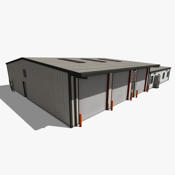 3d model suburban department