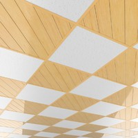 3d model wooden ceiling tileable pattern
