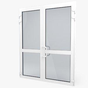 3dsmax modern pvc door
