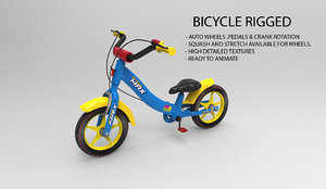 bicycle rig 3d 3ds