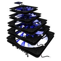 3d set coolers model
