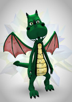 Toon Dragon ( Rigged )