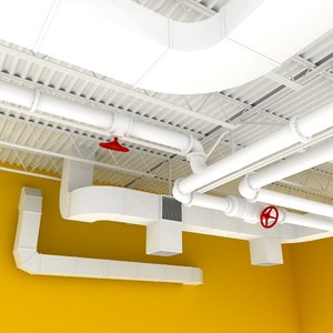 space open set ceiling 3ds