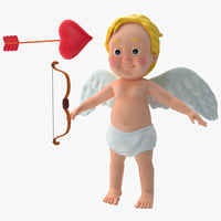 3d cartoon cupid