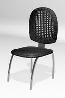 free max model plastic metal chair