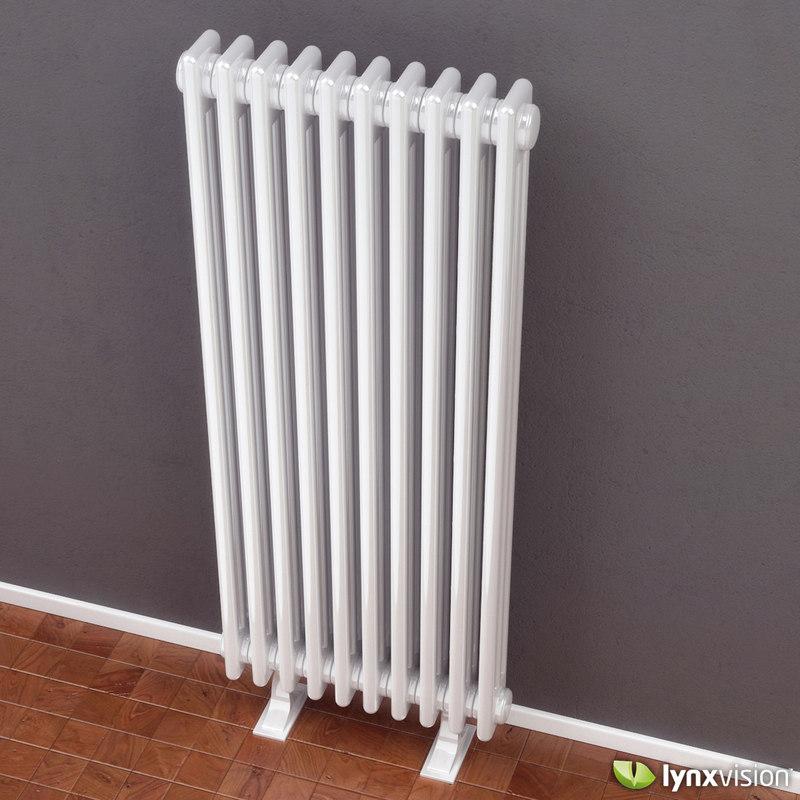 classic column radiator stelrad 3d max