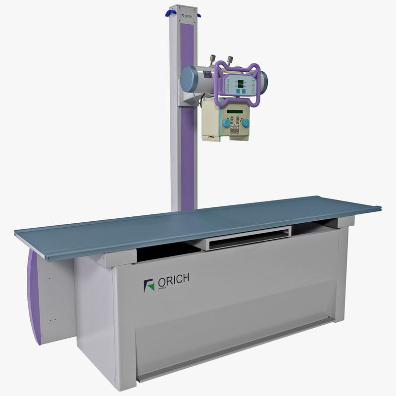 diagnostic x-ray machine orich 3d model
