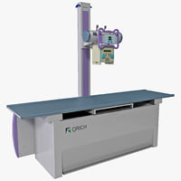 diagnostic x-ray machine orich 3d model