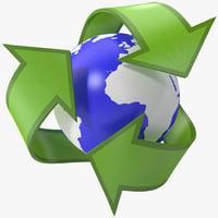 Recycling Symbol 2