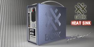 design boxx computers case 3d ige