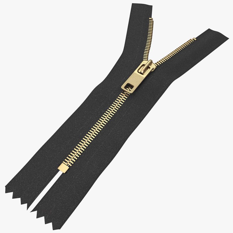 3d zipper open