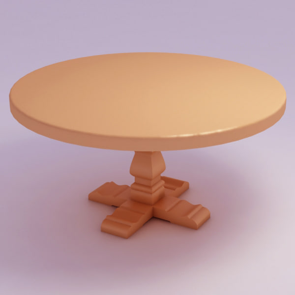 max table rustic