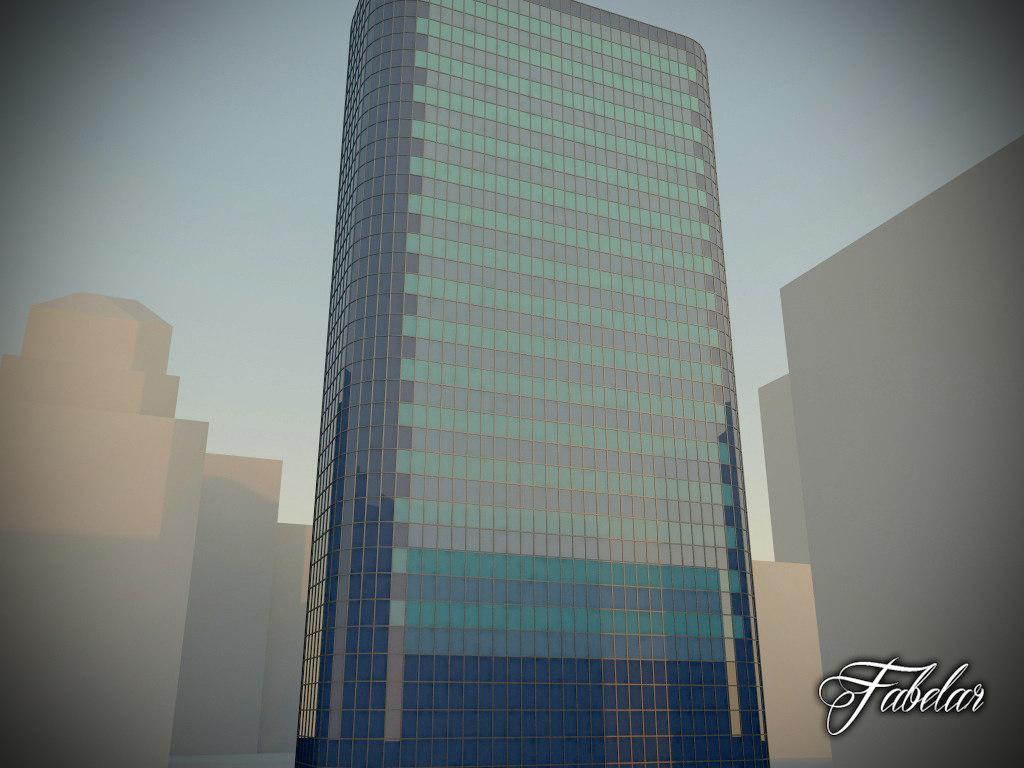 3d model skyscraper modular mentalray