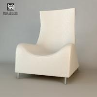 free sede armchair chair 3d model