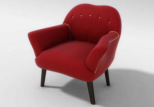 penny armchair 3d 3ds