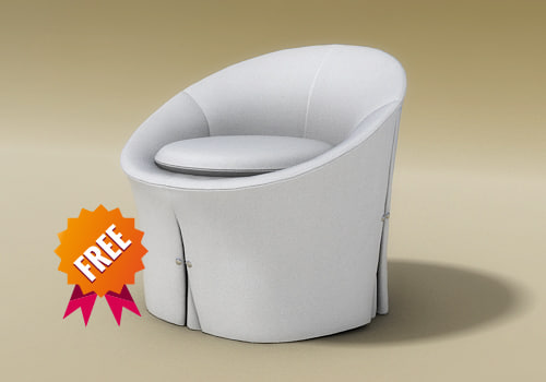 free 3ds mode armchair chair