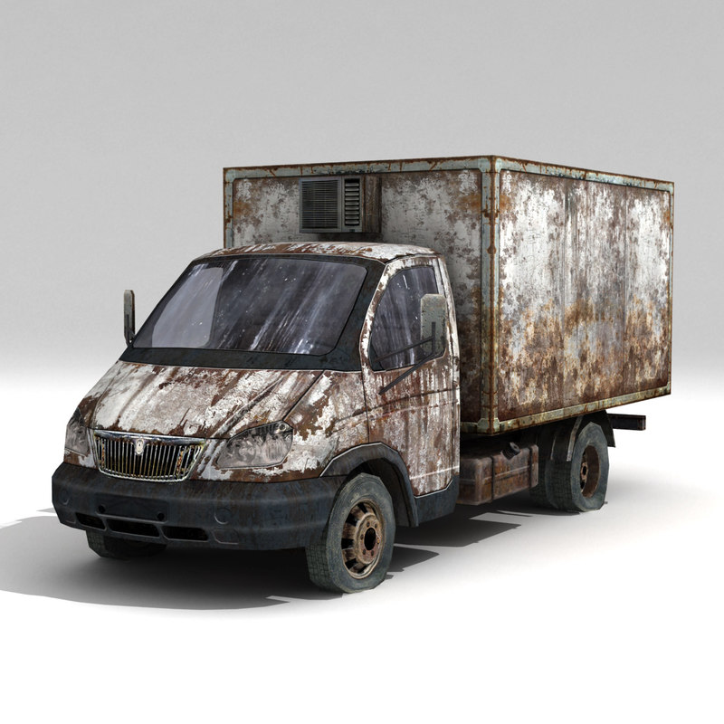 3d model car qaz 3302-qazel