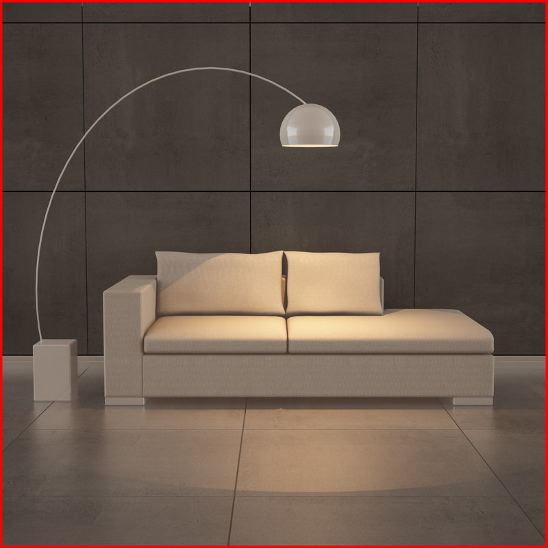 3ds nice chaise longue
