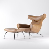 wegner ox chair erik 3d 3ds
