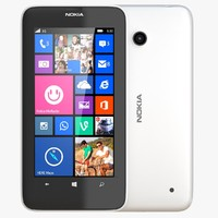 3ds nokia lumia 630 white