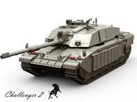 3d challenger tank