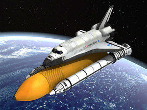 3d model of space nasa discovery