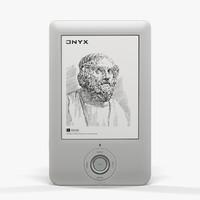 3d model e-book onyx boox a60