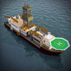 maya drill ship