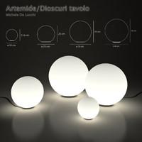 luminaires dioscuri tavolo obj free