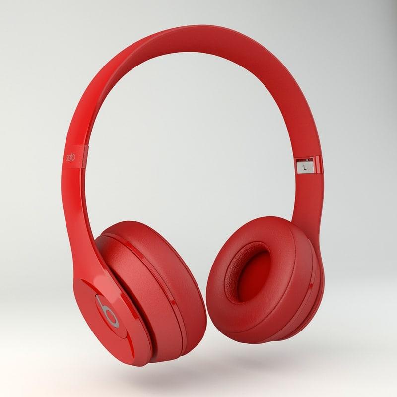 beats 3d model