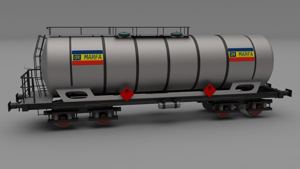 cfr er train car 3d model