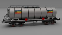 CFR train tanker car