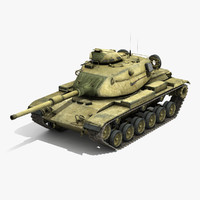 M60A1 Patton Low Poly