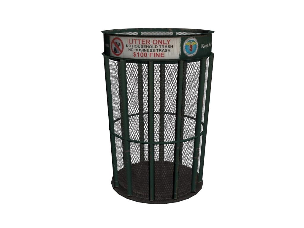 3dsmax trash bin
