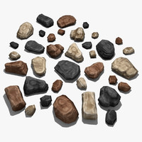 Game Props Rock Pack 01