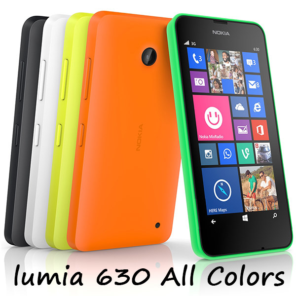nokia lumia 630 colors 3d max