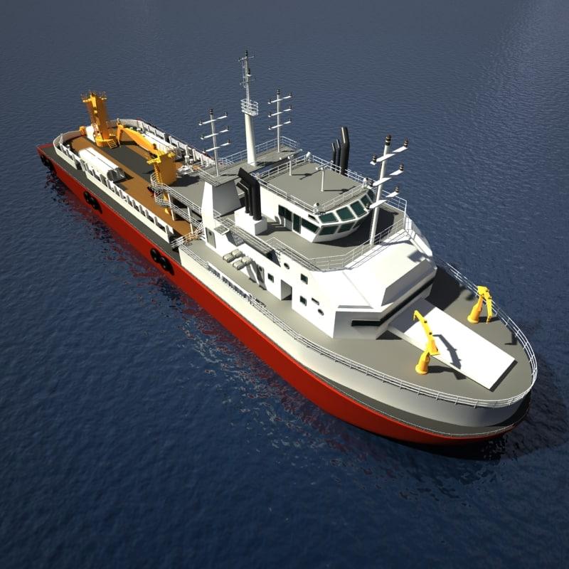 max ahts vessel
