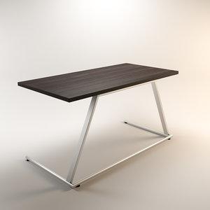3d max modular office desk