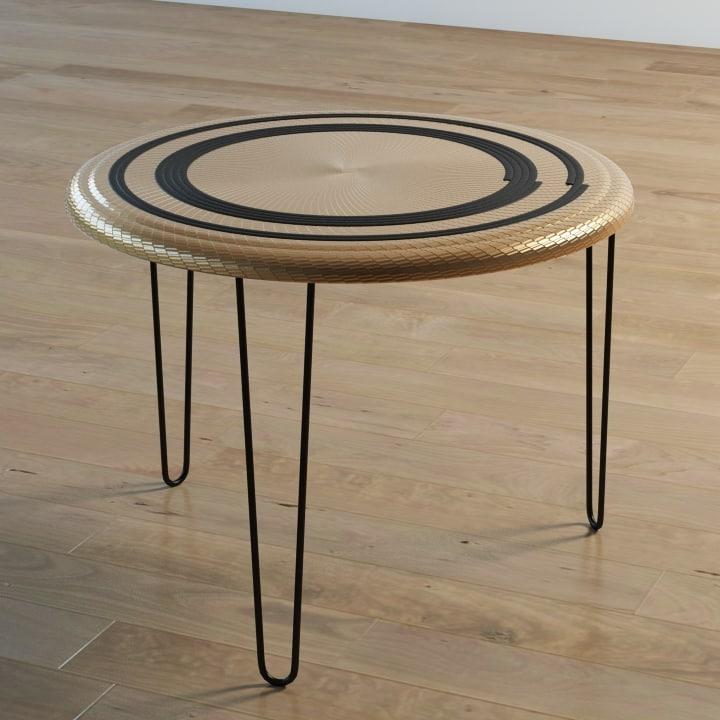 3d mandala table
