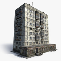9-Storey Russian House 01