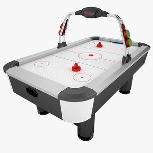 3d model air hockey