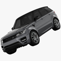 3ds land rover range sport
