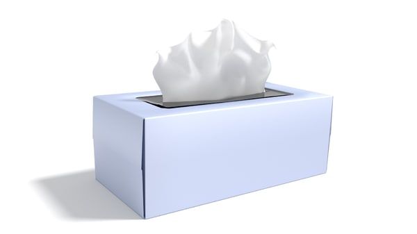 3d 3ds tissue box