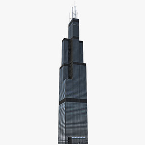 3d model willis tower